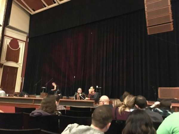 Heinz Hall, vak: Orchestra R, rij: F, stoel: 14