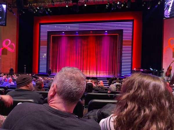 Penn & Teller Theater, vak: 2, rij: N, stoel: 4