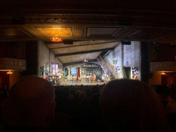 Bernard B. Jacobs Theatre, vak: Orchestra, rij: R, stoel: 114