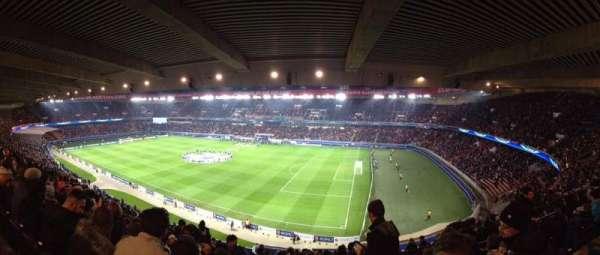 Parc des Princes, vak: 407, rij: 21, stoel: 38