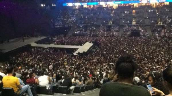 AccorHotels Arena, vak: O, rij: 3, stoel: 25
