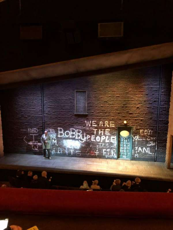 Bernard B. Jacobs Theatre, vak: Mezz C, rij: B, stoel: 103