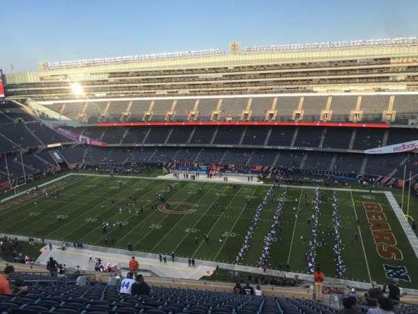 Soldier Field, vak: 434, rij: 20, stoel: 19