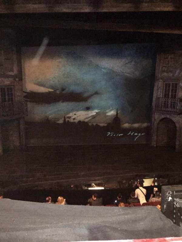 Imperial Theatre, vak: FrtMez, rij: A, stoel: 1