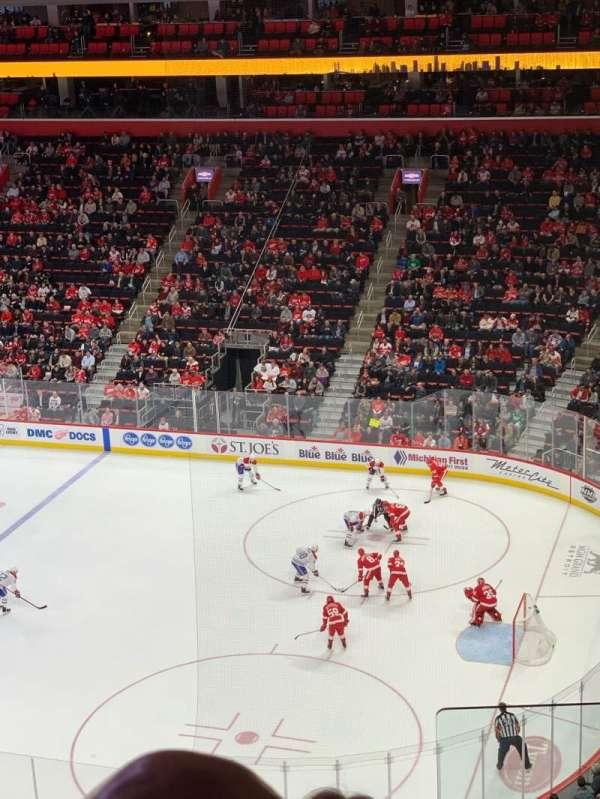 Little Caesars Arena, vak: M24, rij: 5, stoel: 1