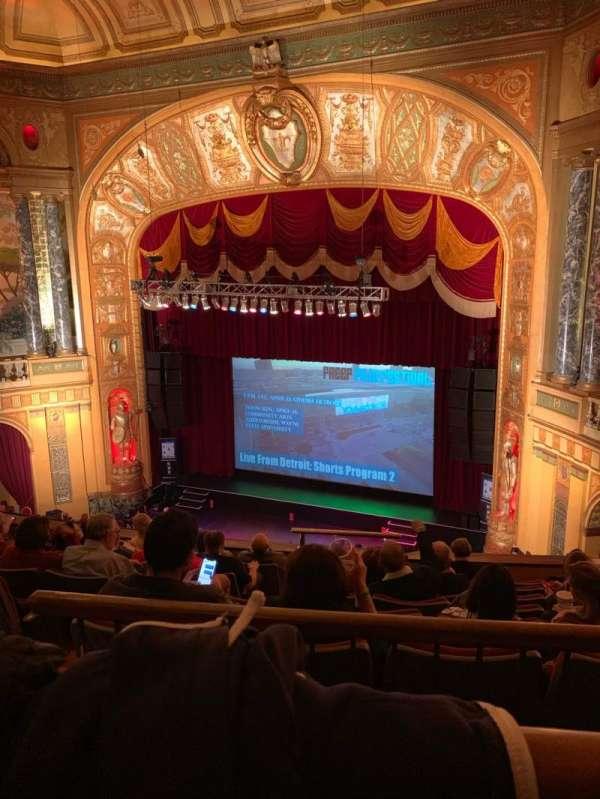 The Fillmore Detroit, vak: UprBalc2, rij: A, stoel: 1