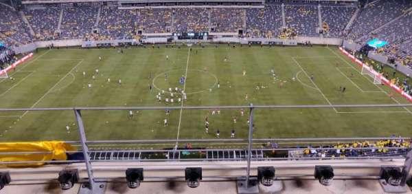 MetLife Stadium, vak: 313, rij: 3, stoel: 18