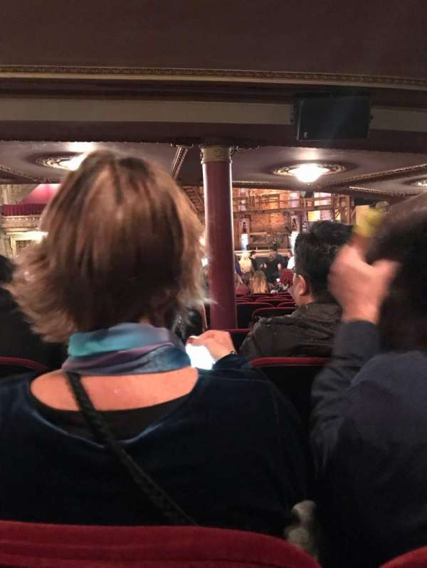 CIBC Theatre, vak: Orchestra R, rij: Z, stoel: 8