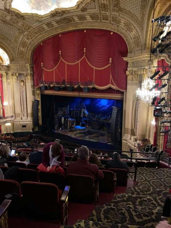 Citizens Bank Opera House, vak: Mezzanine R, rij: G, stoel: 30
