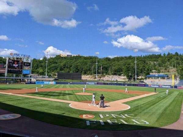 PNC Field, vak: 22, rij: 8, stoel: 1