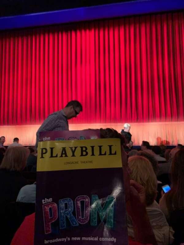 Longacre Theatre, vak: ORCHC, rij: H, stoel: 106