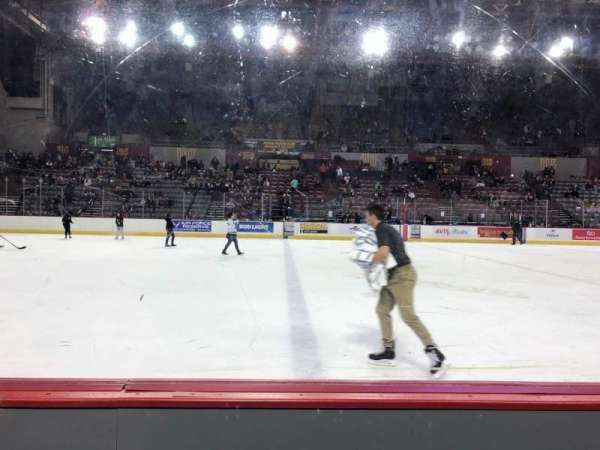 Sullivan Arena, vak: 110, rij: 5, stoel: 6