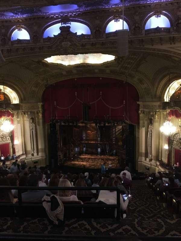 Boston Opera House, vak: Ctr Balcony, rij: Q, stoel: 14