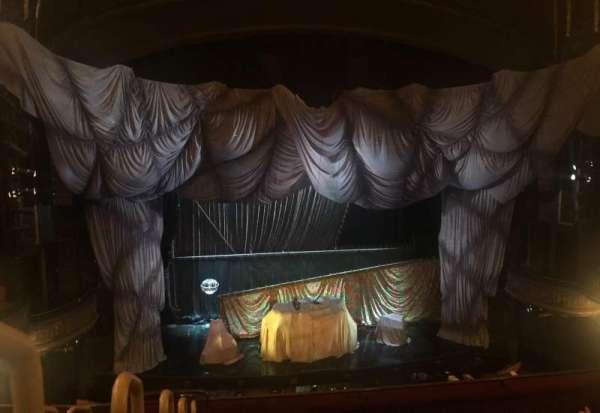 Majestic Theatre, vak: Front Mezzanine, rij: F, stoel: 101