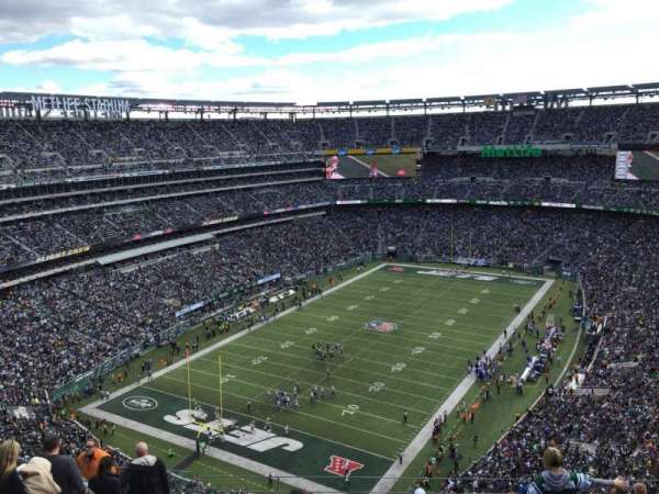 Metlife Stadium, vak: 347, rij: 17, stoel: 18