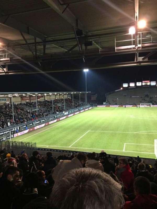 Stade Raymond Kopa, vak: Coubertin D, rij: AE, stoel: 108