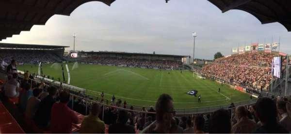 Stade Raymond Kopa, vak: Jean Bouin Laterale, rij: S, stoel: 2
