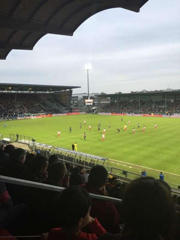 Stade Raymond Kopa, vak: Jean Bouin Laterale, rij: S, stoel: 1