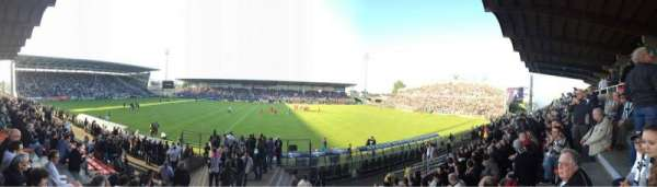 Stade Raymond Kopa, vak: Jean Bouin Centrale, rij: J, stoel: 79
