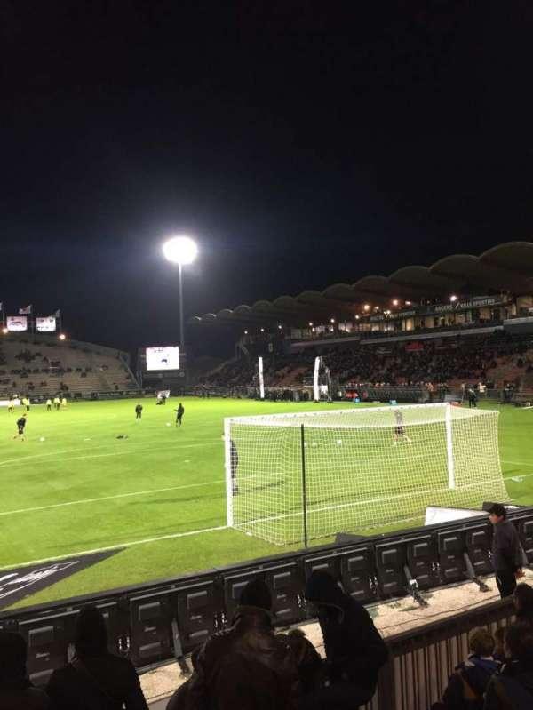 Stade Raymond Kopa, vak: Coubertin, rij: F, stoel: 125