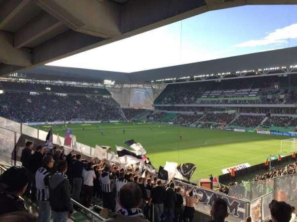 Stade Geoffroy-Guichard, vak: Tribune H.Point, rij: V30