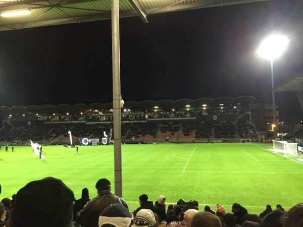 Stade Raymond Kopa, vak: St Leonard Laterale, rij: Q, stoel: 25