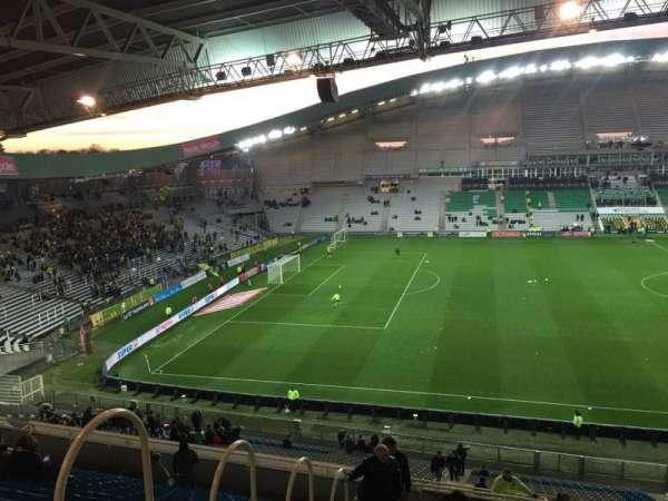 Stade de la Beaujoire, vak: Oceane Haut, rij: Q, stoel: 168