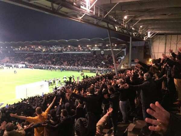 Stade Raymond Kopa, vak: Coubertin F, rij: Y, stoel: 144A