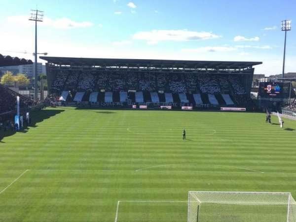 Stade Raymond Kopa, vak: Colombier, rij: Haute