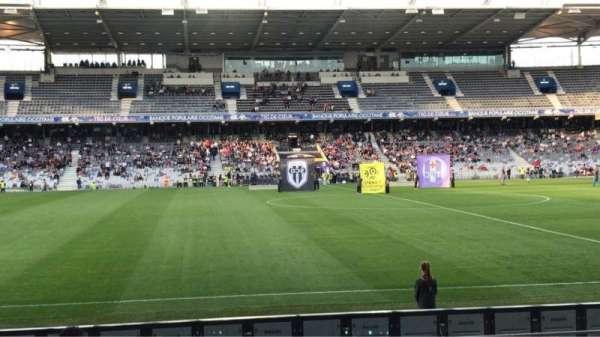 Le Stadium de Toulouse, vak: Honneur Sud, rij: 14, stoel: 225