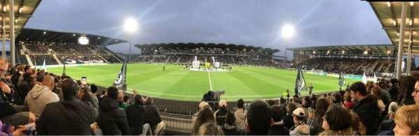 Stade Raymond Kopa, vak: Saint leonard Centrale, rij: F, stoel: 28