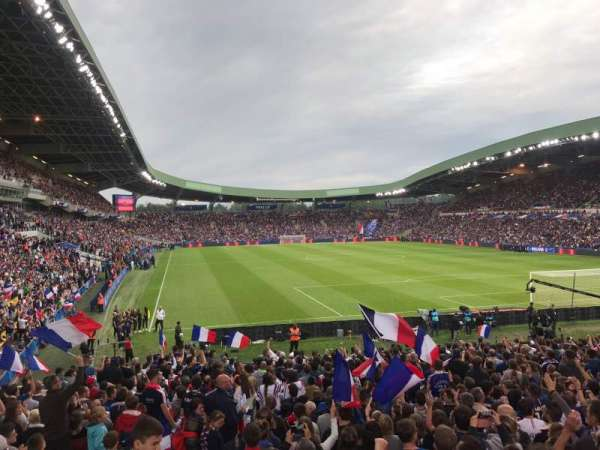 Stade De La Beaujoire, vak: E2F, rij: ZC, stoel: 221