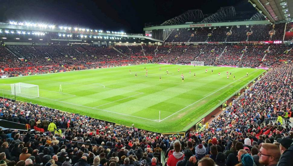 Old Trafford,  Vak <strong>109</strong>, Rij <strong>14</strong>, Stoel <strong>2</strong>