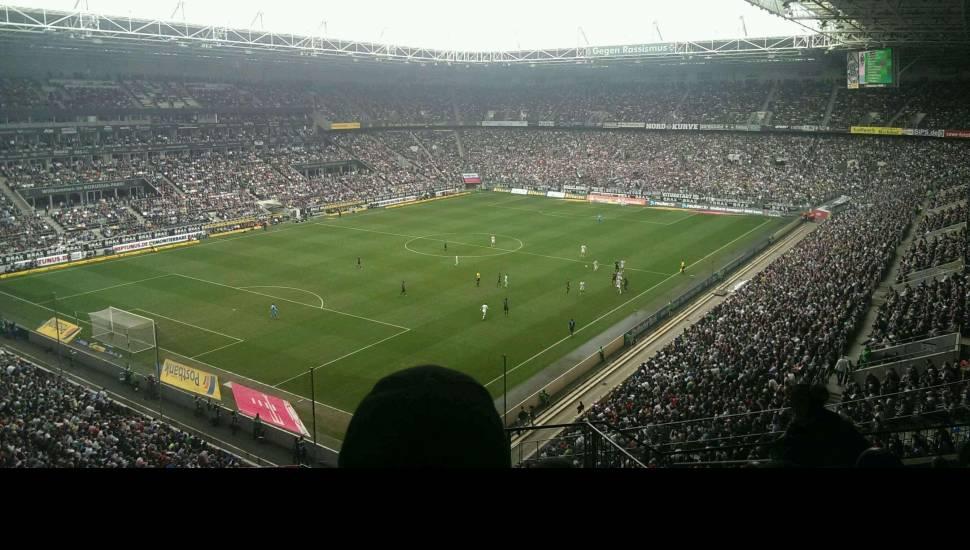 Borussia Park,  Vak <strong>Loge</strong>, Rij <strong>4</strong>