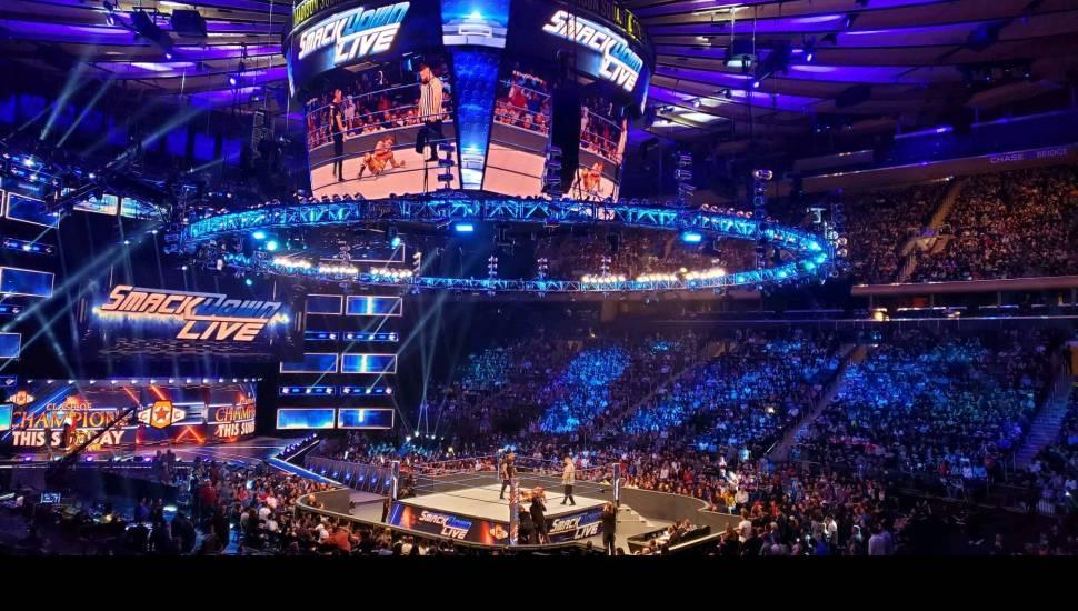 Madison Square Garden,  Vak <strong>130</strong>, Rij <strong>X</strong>, Stoel <strong>19</strong>