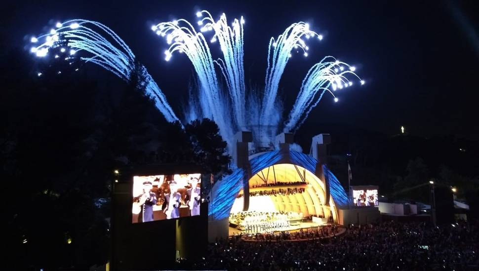 Hollywood Bowl,  Vak <strong>28</strong>, Rij <strong>67</strong>, Stoel <strong>14</strong>