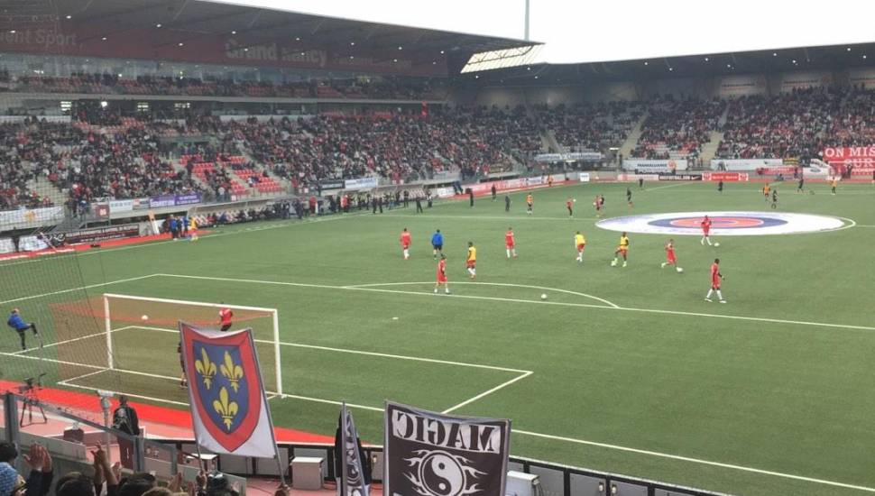 Stade Marcel-Picot,  Vak <strong>6A</strong>, Rij <strong>10</strong>, Stoel <strong>4</strong>