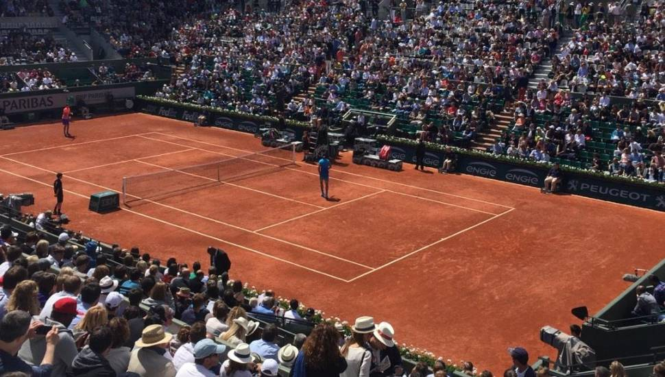 Court Suzanne-Lenglen,  Vak <strong>Loge</strong>, Rij <strong>4</strong>