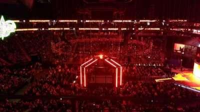 T-Mobile Arena, vak: 223, rij: A, stoel: 12