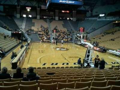 Mizzou Arena, vak: 110, rij: 15, stoel: 13
