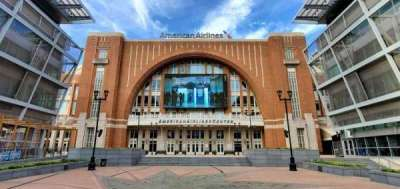 American Airlines Center vak South Entrance