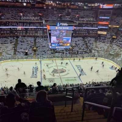Nationwide Arena, vak: 204, rij: O, stoel: 1