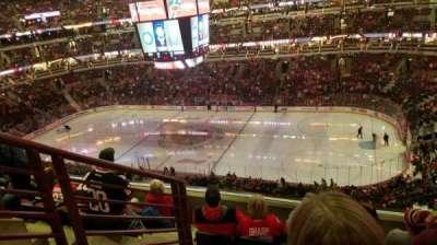 United Center, vak: 332, rij: 6, stoel: 14
