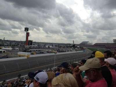 Daytona International Speedway, vak: Oldfield Box A, rij: 24, stoel: 15