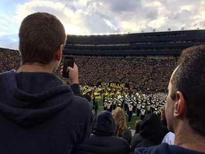 Michigan Stadium, vak: 44, rij: 2, stoel: 10