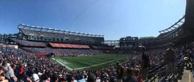 Gillette Stadium, vak: 138, rij: 32, stoel: 5