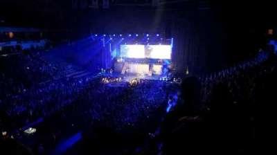 SNHU Arena, vak: 225, rij: c, stoel: 9