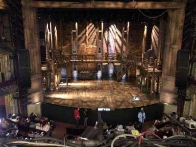 CIBC Theatre, vak: LC mezzanine, rij: A, stoel: 301