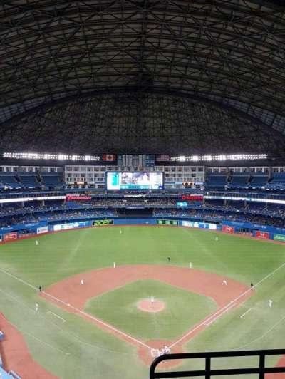 Rogers Centre, vak: 524, rij: 12, stoel: 101
