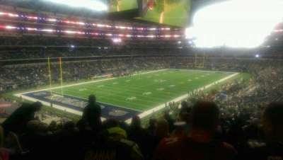 AT&T Stadium, vak: 243, rij: 15, stoel: 10
